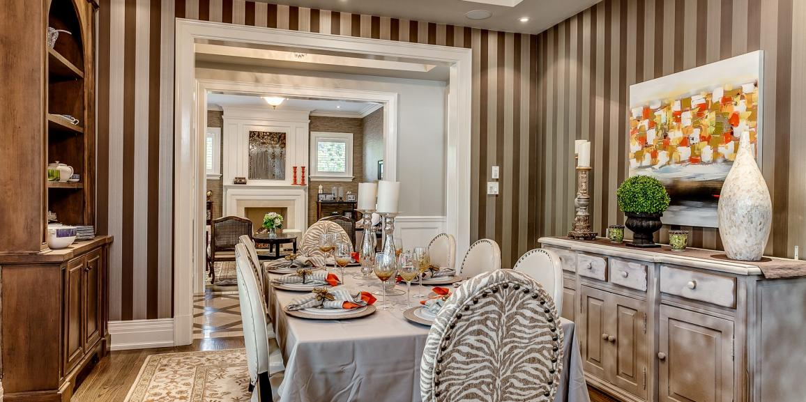 Five ways to stage a dining room to sell