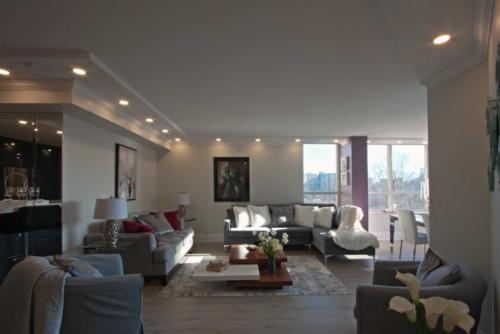 Toronto Home Stating Living Room