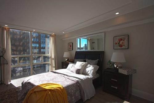 Toronto Home Stating Master Bedroom