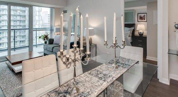 Home staging new-build condo in Toronto