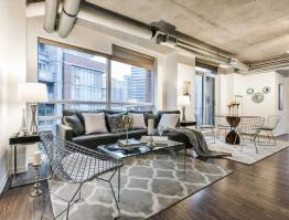 Sudbury St. Loft Staging design