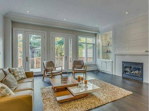 Family room  home staging