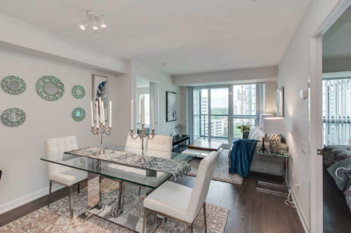 Yonge St Unit Condo Home staging Toronto